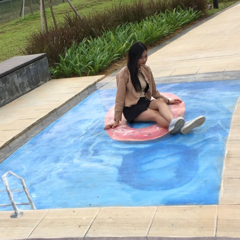 3D Floor Art – 3D Floor Painting